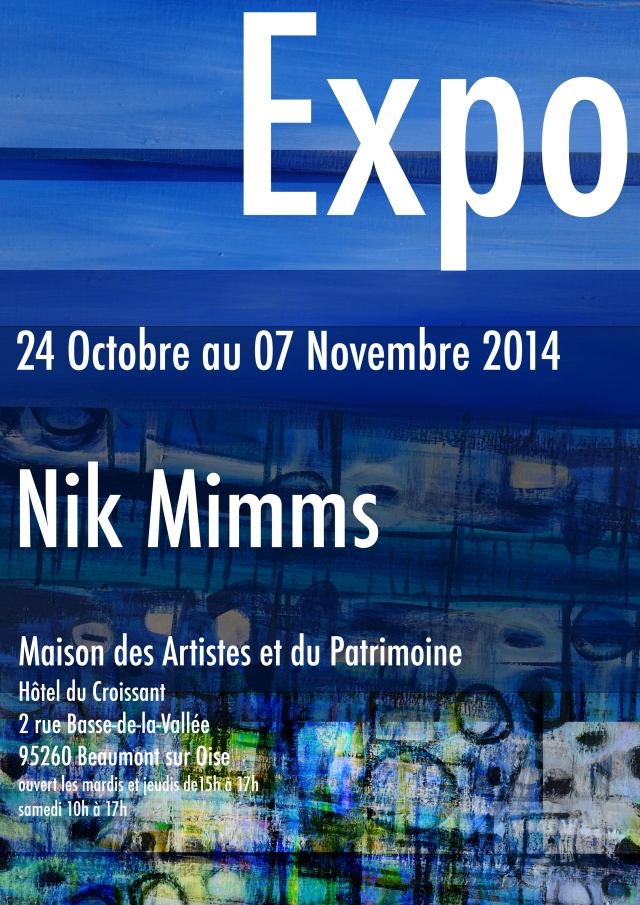 Affiche expo Beaumont 1